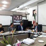 دیدار رئیس اداره ورزش و جوانان قدس از اعضای شورای اسلامی
