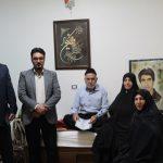همزمان با فرارسیدن سوم خرداد روز آزاد سازی خرمشهر /  دیدار با خانواده معظم شهدا و جانبازان انجام شد