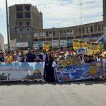 در حمایت از مردم مظلوم فلسطین انجام شد/ حضور گسترده جامعه ورزش و جوانان شهرستان قدس در راهپیمایی شکوهمند روز جهانی قدس