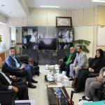 فرماندار و رئیس اداره ورزش و جوانان قدس بامعاون وزیر ورزش وجوانان دیدار کردند