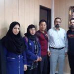 نمایندگان فدراسیون جهانی موی تایifma مورد استقبال رئیس اداره ورزش و جوانان شهرستان قدس قرار گرفتند