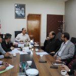 جلسه ای در خصوص تامین سرانه هایی با کاربری ورزشی در شهرستان قدس برگزار شد