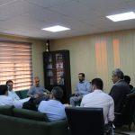 مدیرکل ورزش و جوانان استان تهران با کارکنان اداره ورزش و جوانان شهرستان قدس دیدار کرد
