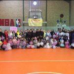 به همت هیات ورزشهای همگانی شهرستان قدس برگزار شد/ جشنواره بازی و ورزش کودکان زیر ۹ سال