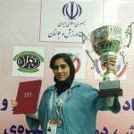 نایب قهرمانی تیم استان تهران، با حضور  بانوی ورزشکار ارزنده شهر قدسی در دومین المپیاد استعدادهای برتر رشته تپانچه بادی