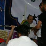 گرامیداشت هفته دفاع مقدس/ برگزاری مسابقه ددلیفت و پرس سینه در شهرستان قدس