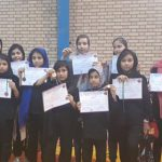 کسب عناوین درخشان دختران کونگ فو کار شهر قدسی در رقابتهای قهرمانی استان تهران