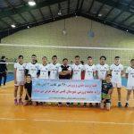 برگزاری مسابقات والیبال آقایان به مناسبت هفته تربیت بدنی و ورزش