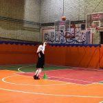 به مناسبت گرامیداشت هفته تربیت بدنی و ورزش مسابقات بسکتبال (دختران) شهرستان قدس برگزار شد