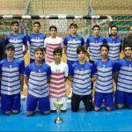تیم هندبال پایتخت با بازیکنان و سرمربی شهرقدسی خود به  مقام قهرمانی مسابقات منطقه ۲ کشور دست یافت