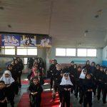 برگزاری مسابقات کونگ فو و هنرهای رزمی بانوان در شهرستان قدس