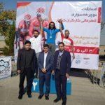 قهرمانی سید میلاد قالیچی در مسابقات دوچرخه سورای کارگران کشور