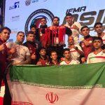 قهرمانی تیم ملی موی تای ایران با حضور ورزشکاران شهرقدسی