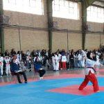 گرامیداشت دهه مبارک فجر/ مسابقات تکواندو بانوان در شهرستان قدس برگزار شد