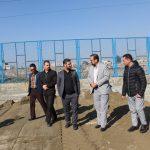 پروژه های عمرانی ورزشی روستای هفت جوی شهر قدس بازدید شد