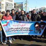 حضور باشکوه جامعه بزرگ ورزش و جوانان شهرستان قدس، در راهپیمایی ۲۲ بهمن
