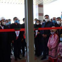 افتتاح سالن ورزشی چند منظوره هفت جوی شهرستان قدس