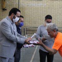 آیین تجلیل از جانبازان ورزشکار شهرستان قدس برگزار شد