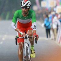 نائب قهرمانی گنج خانلو در مسابقات دوچرخه سواری کشور