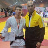 نائب قهرمانی جودوکار شهر قدسی در مسابقات کشوری